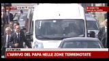 Il Papa in visita nelle zone terremotate