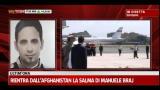 27/06/2012 - Rientra dall'Afghanistan la salma di Manuele Braj