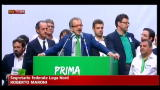 Lega Nord, Maroni: cominciamo a lavorare subito
