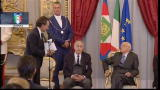 Cesare Prandelli al Quirinale