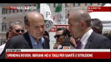 Sfiducia Fornero: Bersani