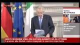 04/07/2012 - Monti: revisione spesa per evitare aumento IVA da ottobre