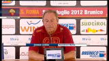 07/07/2012 - Zeman: &quot;Voglio competere e fare il risultato&quot;