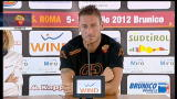 09/07/2012 - Roma, Totti: con Zeman avremo piu possibilita di far gol