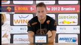 Roma, Totti: con Zeman avremo più possibilità di far gol
