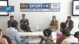 17/07/2012 - Sky presenta le Olimpiadi, l'in bocca al lupo di Pancalli