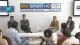 Sky presenta le Olimpiadi, l'in bocca al lupo di Pancalli