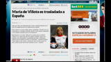 21/07/2012 - La pilota Maria de Villota torna in Spagna