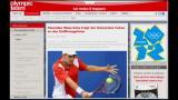 23/07/2012 - Federer cede il ruolo di portabandiera a Wawrinka