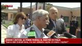 29/07/2012 - Oriano Cantani, le prime parole al rientro in Italia