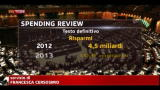 07/08/2012 - Spending review, da oggi il provvedimento e legge
