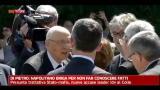 11/08/2012 - Di Pietro: Napolitano briga per non far conoscere fatti