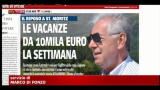Ferie, Monti: in Svizzera, affitto da 12.500 euro per 4 mesi