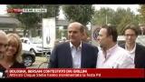 31/08/2012 - Bologna, Bersani contestato dai Grillini