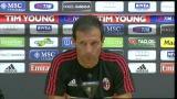 "31/08/2012 - Milan, Allegri: ""Puntiamo ai primi tre posti"""