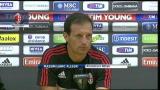 """31/08/2012 - Milan, Allegri: """"Ottimi acquisti, squadra al completo"""""""