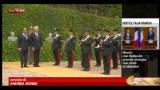 Monti: piena sintonia Italia-Francia su difesa euro