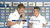 Under 21, Ciro Immobile intervista Alessandro Florenzi