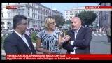 Manifestazione Alcoa a Roma, intervista a Gianni Venturi