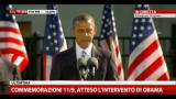 Commemorazione 11/9, parla il Presidente Obama