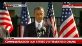 Commemorazione 11/9, parla il Presidente Obama