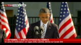 11/09/2012 - 11/9, Obama: americani pi forti e uniti di prima