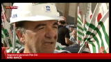 11/09/2012 - Cagliari, la protesta degli operai Alcoa davanti prefettura