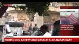 Egitto, continuano scontri davanti all'ambasciata USA