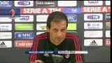 """Milan, Allegri: """"Sappiamo che ci saranno momenti difficili"""""""