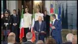 """Olimpiadi, Napolitano: """"L'Italia sa fare gruppo"""""""