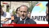 22/09/2012 - Di Pietro fa passo indietro, ma Bersani non cede
