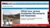 24/09/2012 - Incidente ferroviario in Puglia: un morto