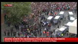 25/09/2012 - Madrid, scontri tra indignados e polizia intorno parlamento