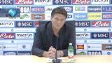 """29/09/2012 - Mazzarri: """"La vittoria per noi è diventata la normalità"""