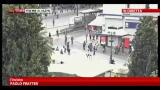 09/10/2012 - Visita Merkel ad Atene, scontri tra polizia e manifestanti