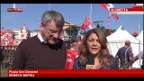 "20/10/2012 - Cgil in piazza, Landini: ""Sistema industriale a rischio"""