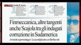 24/10/2012 - Caso Finmeccanica, rassegna stampa