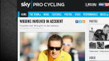 Ciclismo, incidente per Bradley Wiggins