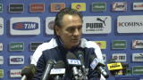 12/11/2012 - Cesare Prandelli e la delusione di Balotelli