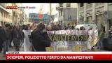 Sciopero Europeo per Lavoro, il corteo di Milano