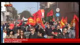14/11/2012 - Sciopero europeo, a Pomigliano d'Arco manifestazione Fiom