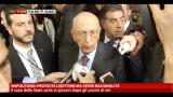 15/11/2012 - Napolitano: proteste legittime ma serve razionalit