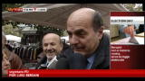 16/11/2012 - Election Day, Bersani: rispettare prerogative Napolitano