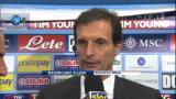 """18/11/2012 - Napoli-Milan, Allegri: """"Sono soddisfatto, avanti così"""""""