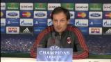 20/11/2012 - Milan, Allegri prima della sfida di Champions