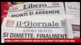 Fiorello dopo annuncio dimissioni Monti: facciamoci del male