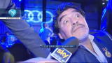 """28/12/2012 - Maradona: """"Sogno il Napoli, ma Mazzarri mi piace"""""""