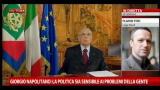 31/12/2012 - Reazioni al discorso Napolitano: Flavio Tosi, Lega Nord