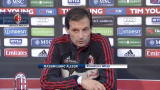 08/01/2013 - Milan, Allegri tra Coppa Italia e mercato