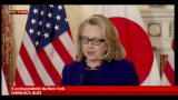 19/01/2013 - Algeria, Hillary Clinton: occorre cautela con gli ostaggi